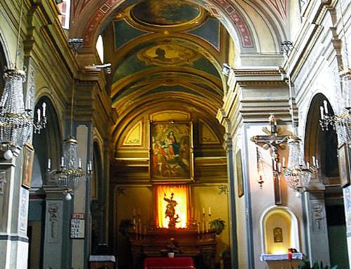 La chiesa parrocchiale di San Giorgio