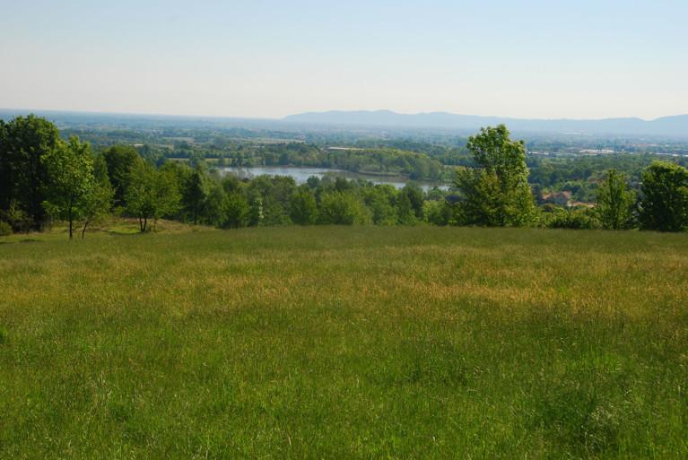 Vista dei laghi di Caselette dal Musinè