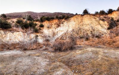 Cave di magnesite sul Musiné
