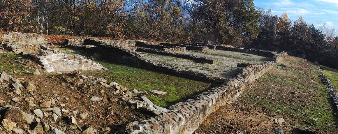 Resti della villa romana a Caselette